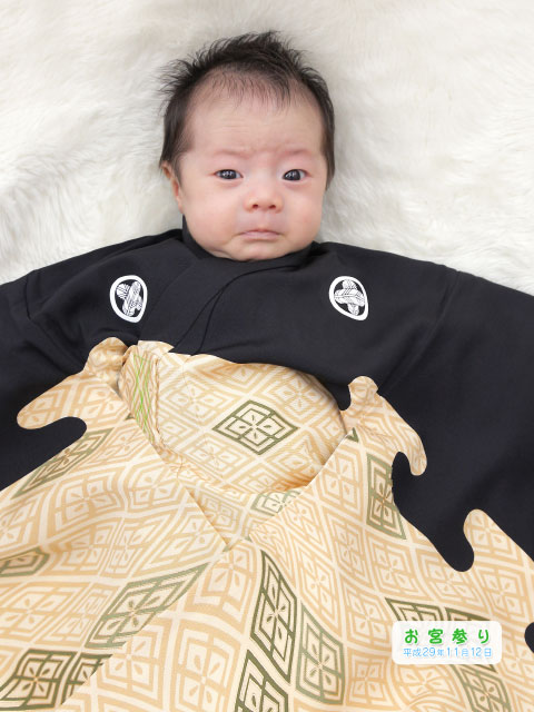 赤ちゃんのお宮参り