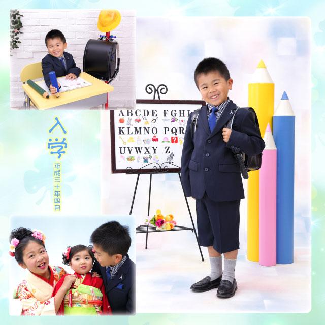 小学校入学と七五三と1/2ハーフ成人式