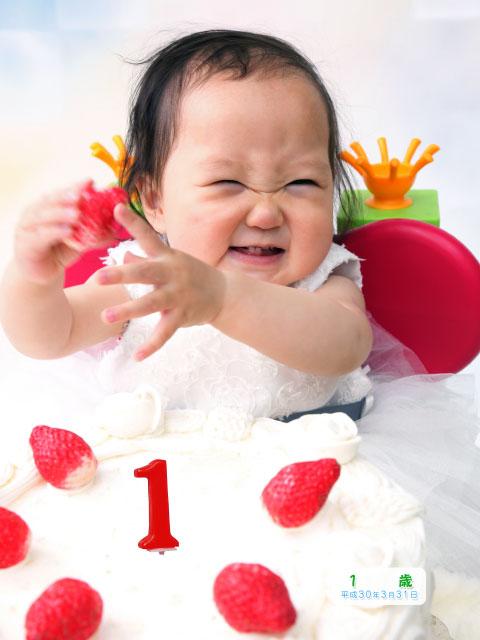 赤ちゃんの百日お食い初めと1歳バースデー