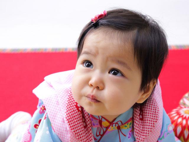 1歳バースデーと桃の節句