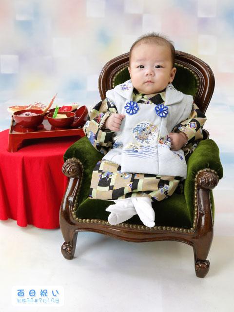 赤ちゃんの百日お食い初め
