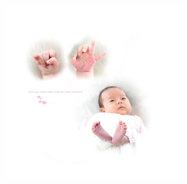 赤ちゃんのお宮参りと七五三