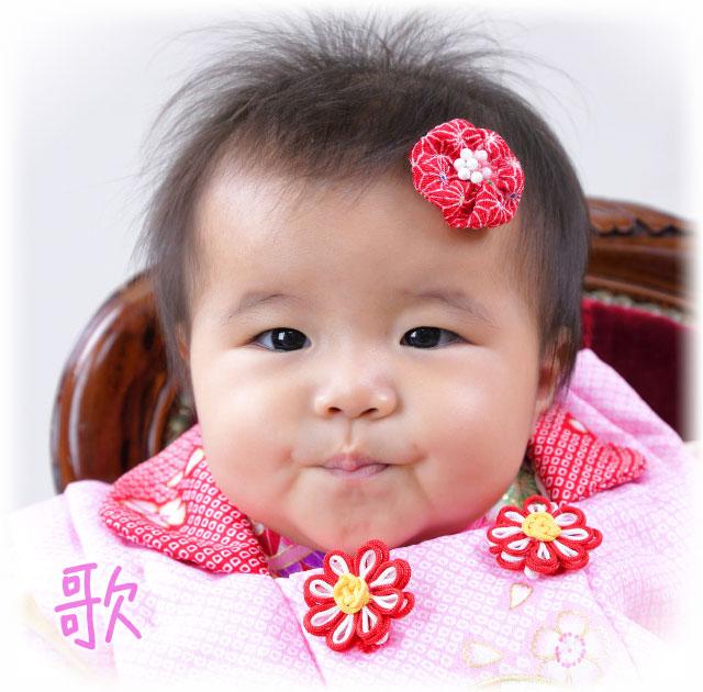 赤ちゃんの1/2ハーフバースデーと七五三