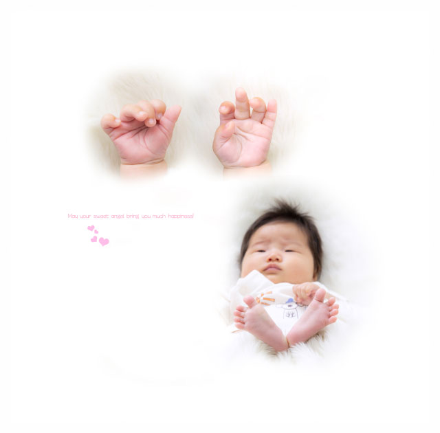 赤ちゃんのお宮参りと1歳バースデー