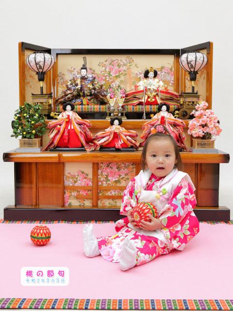 桃の節句とマタニティ写真